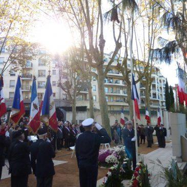 Commémorations des 1er et 11 novembre 2013