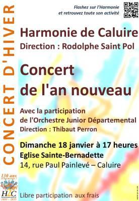 Concert de l'An Nouveau 2015