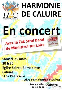 Concert de Printemps le samedi 25 mars 2017