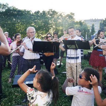 Concert du 19 juin 2018 Place Gutenberg, Quartier de Montessuy
