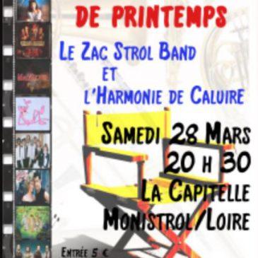 Concert de printemps, 28 mars 2015