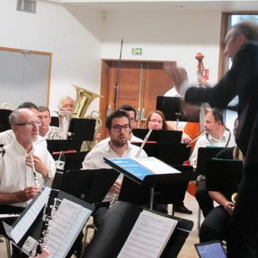 Reprise des répétitions de l'Harmonie le mardi 3 septembre