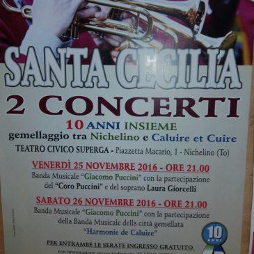 Week-end italien pour les musiciens de l'Harmonie