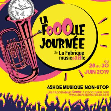 Dernier concert de la saison à la Folle journée de la Fabrique Musicale à Heyrieux le samedi 29 juin midi