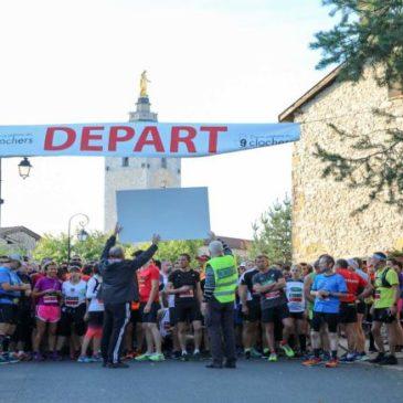 Animation de la course des 9 clochers à Chazay d'Azergues dimanche 13 octobre