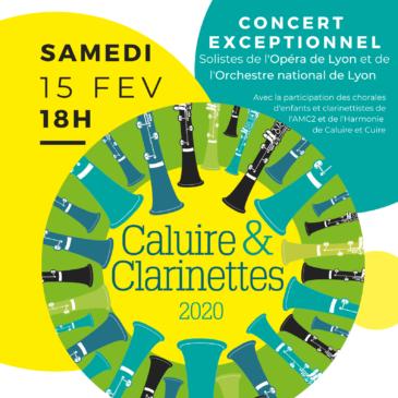 L'Harmonie et Caluire et Clarinettes : quel succès!